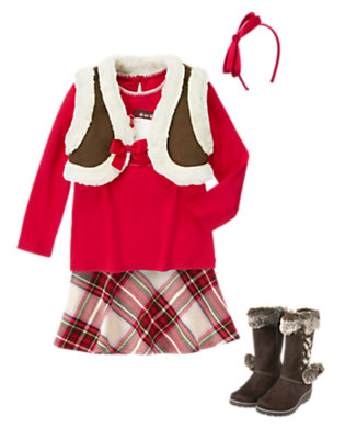 Girl's Stylish Ice Skater Outfit by Gymboree