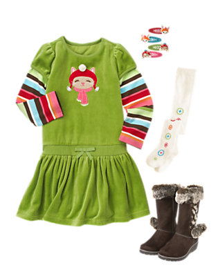 Jolly Holiday Outfit by Gymboree