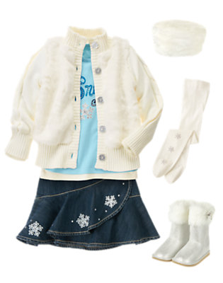 Snow Chic Outfit by Gymboree