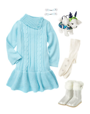 Winter Glam Outfit by Gymboree