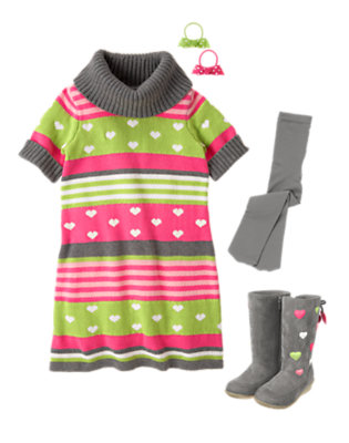 Girl's Sweet For Winter Outfit by Gymboree