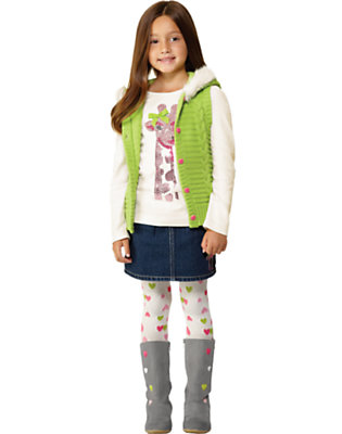 Girl's Fashionable Giraffe Outfit by Gymboree