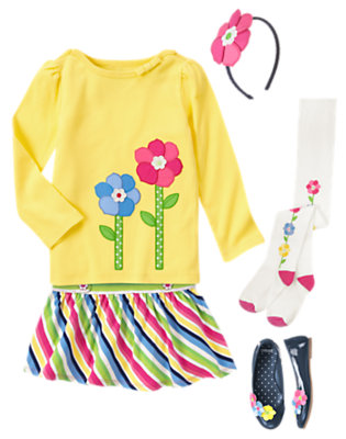 Sunny Blossoms Outfit by Gymboree