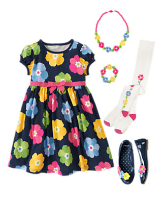 Blooming Bright Outfit by Gymboree