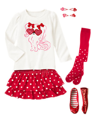 Girl's Lovestruck Sweetie Outfit by Gymboree