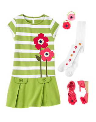 Poppy Springtime Outfit by Gymboree