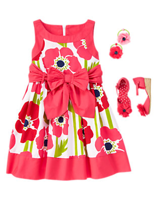 Girl's Blooming Poppy Outfit by Gymboree
