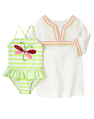 Girl's Pretty Dragonfly Outfit by Gymboree