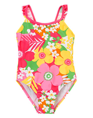 Girl's Stylish Swimmer Outfit by Gymboree