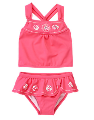 Girl's Bright & Splashy Outfit by Gymboree