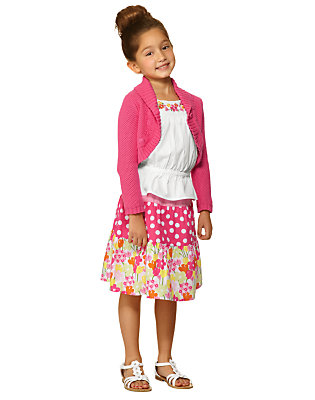 Girl's Tea Time Afternoon Outfit by Gymboree