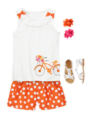 Girl's Bicycle Days Outfit by Gymboree