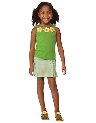 Girl's Daffodil Garden Outfit by Gymboree
