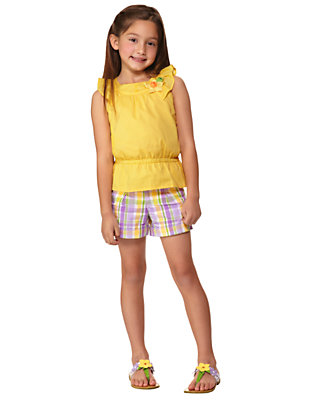 Girl's Sweet Daffodil Outfit by Gymboree