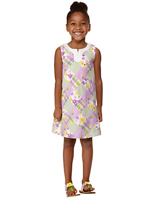 Girl's Patchwork Springtime Outfit by Gymboree