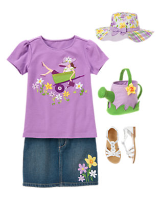 Garden Chic Outfit by Gymboree