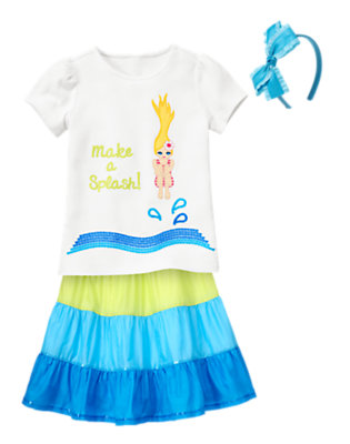 Girl's Make A Splash! Outfit by Gymboree