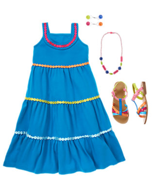 Girl's Dazzling Dots Outfit by Gymboree