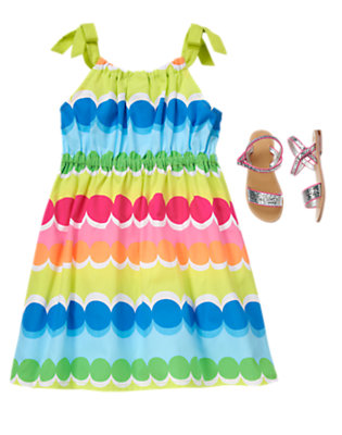 Rainbow Cabana Outfit by Gymboree