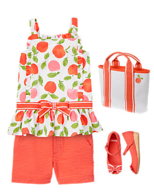 Peachy Keen Outfit by Gymboree
