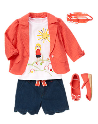 Girl's Croquet Cutie Outfit by Gymboree
