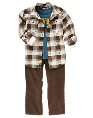 Classic Cowboy Outfit by Gymboree