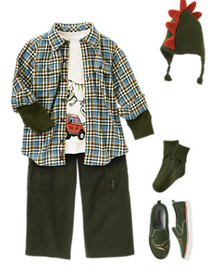 T-Rex Adventure Outfit by Gymboree