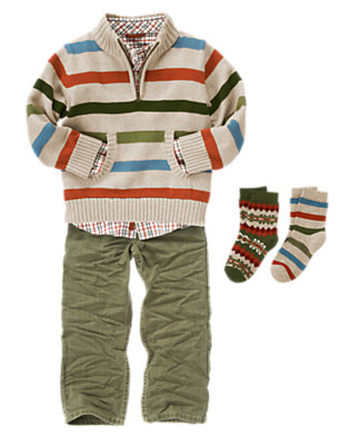 Stylish Stripes Outfit by Gymboree