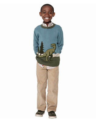 Boy's Prehistoric Preppy Outfit by Gymboree