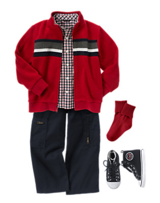 Boy's Ready For Fall Outfit by Gymboree