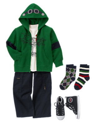 Boy's Cockpit Cool Outfit by Gymboree