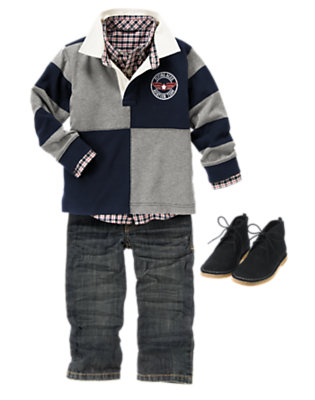 Airplane Academy Outfit by Gymboree