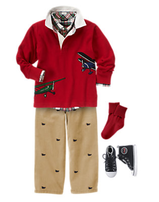 Boy's Mister Wingman Outfit by Gymboree