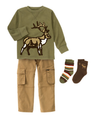 Boy's Wilderness Scout Outfit by Gymboree