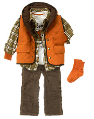 Boy's Get Reel! Outfit by Gymboree