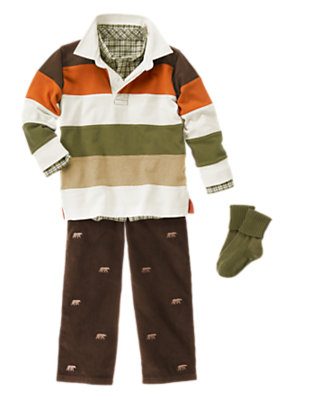 Hit The Trail Outfit by Gymboree
