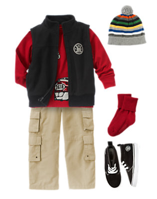 Train Adventure Outfit by Gymboree