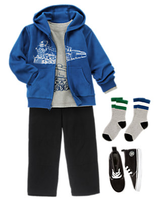 Full Steam Ahead! Outfit by Gymboree