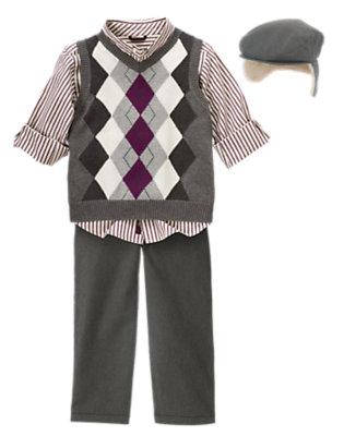 Boy's Polar Prepster Outfit by Gymboree