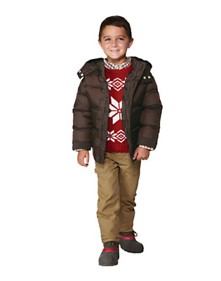 Winter Classic Outfit by Gymboree
