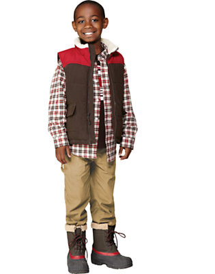 Rugged & Cozy Outfit by Gymboree