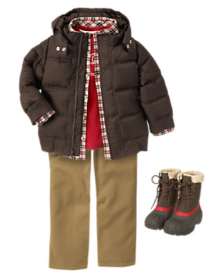 Team Adventure Outfit by Gymboree