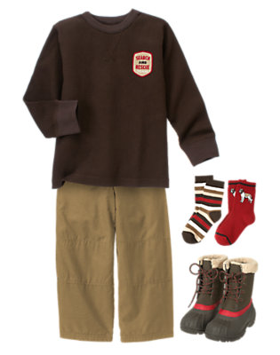 Boy's Cool & Casual Outfit by Gymboree