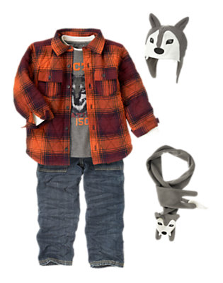 Boy's Sled Dog Buddy Outfit by Gymboree