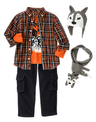 Boy's Leader Of The Pack Outfit by Gymboree