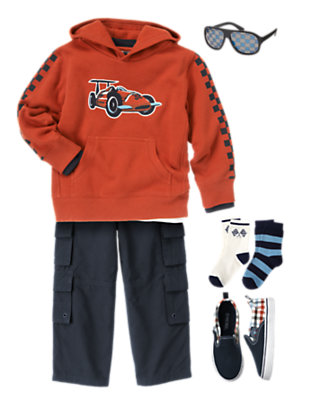 Boy's Ace Driver Outfit by Gymboree
