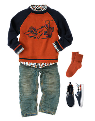 Race Car Hero Outfit by Gymboree