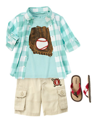 Boy's Cool Catcher Outfit by Gymboree