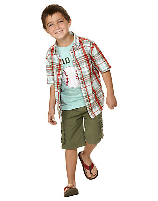 Boy's Grand Slam Outfit by Gymboree