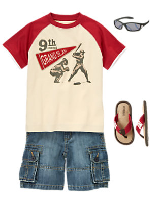 Boy's League Champ Outfit by Gymboree
